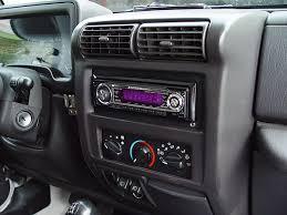 jeep tj stereo head unit ipod mp3 auxiliary input installation