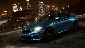 need for speed bmw bmw m2 coupé premieres in need for speed this november