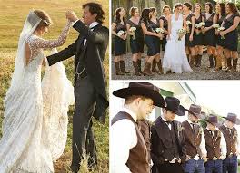 country themed wedding attire beautiful western theme wedding ideas pictures styles ideas
