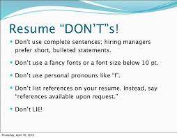 Best Text For Resume by Ideal Font Size For Resume Resume Templates