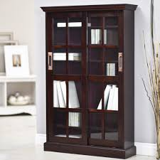 Bookcase With Sliding Glass Doors by Bookshelves With Doors Glass Storage U0026 Store Shop The Best