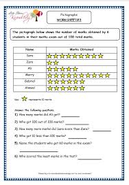 grade 3 maths worksheets pictorial representation of data 15 1