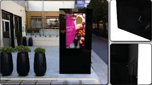 outdoor digital posters display systems