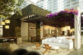vertical gardens add a green touch to luxe nyc u0026 miami spots new