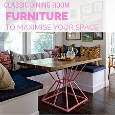 classic dining room furniture to maximise your space zespoke