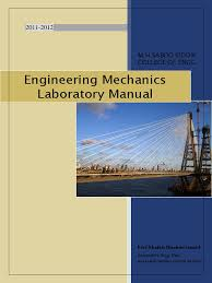 engineering mechanics lab manual friction force