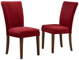 parson chairs monarch specialties brown swirl fabric parsons