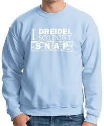 buy dreidel buy i dreidel so i don 39 t snap premium crewneck sweatshirt in