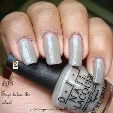 preciouspearlmakeup opi nail lacquer suzi takes the wheel
