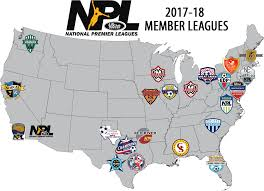 Nfl Usa Map by Npl National Premier Leagues Us Club Soccer