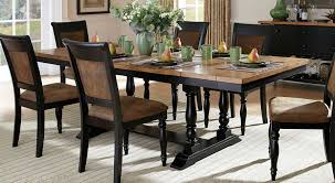 distressed dining room tables distressed dining room sets artefac top grain leather dining