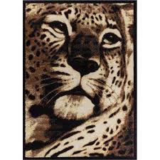 Cheetah Area Rug Animal Print Area Rugs Rugs The Home Depot