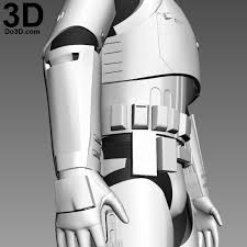 3d printable model of stormtrooper first order costume armor from