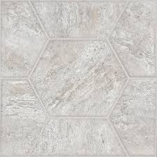 Peel And Stick Floor Tile Reviews Trafficmaster Grey 12 In X 24 In Peel And Stick Linear Vinyl