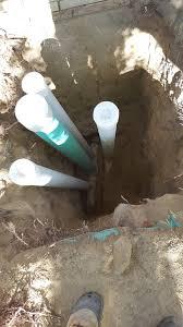 replacing old clay basement drain piping