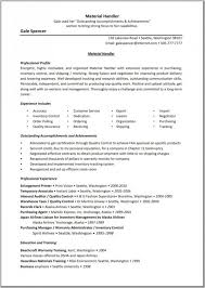 Stocker Job Description For Resume by Surprising Material Handler Job Description For Resume 15 For Your