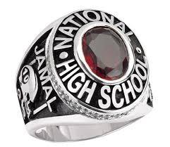 keepsake bowling rings tribute class ring from homeschool diploma