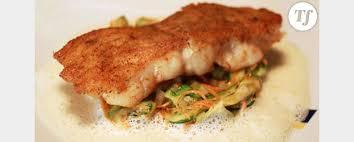 cuisiner le lieu jaune de chef le lieu jaune en croûte d herbe selon françois pasteau