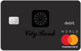 debit card city bank personal debit cards
