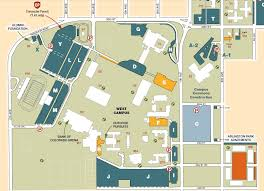 University Of Tennessee Parking Map by Campus Map