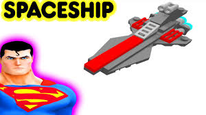 toy spaceship video for kids rocket with superhero superman youtube