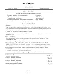 Educational Resumes Sample Resume For Preschool Teacher Aide Templates