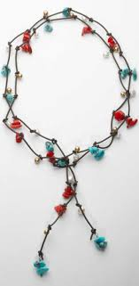 large silver beads necklace images Beaded necklaces by jewelry designer yodefet using murano glass jpg