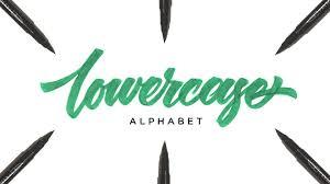 hand lettering tutorial for beginners lowercase alphabet youtube