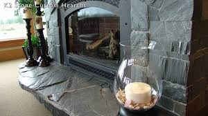 fireplace hearth designs using k2 u0027s natural stone youtube