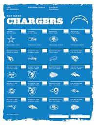 best 25 chargers football schedule ideas on nfl