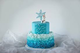 frozen decorations for birthday cake image inspiration of cake