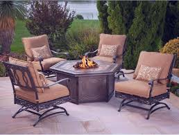 Patio Dining Sets With Fire Pits - furniture lowes bistro set for creating an intimate seating area