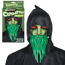 Halloween Inflatables Videos by Inflatable Cthulhu Beard Accoutrements Archie Mcphee Wholesale