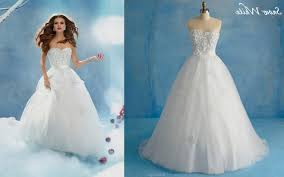 disney princess wedding dresses alfred angelo naf dresses