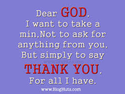 motivation poem thank you god for every thing