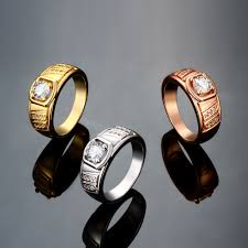 men rings prices images Fashion rings men trendy geometry gold plated rose gold plated jpeg