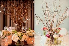 Branch Decor 16 Unique Centerpiece Ideas For Your Reception Tables Wedding