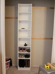Build Your Own Bookcase Wall How To Build Your Own Closet Built Ins Using A Billy Bookcase