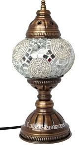 23 best turkish mosaic table lamps images on pinterest table
