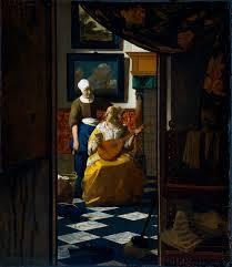 johannes vermeer the love letter 1669 1670 the world