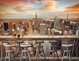 New York City Home Decor Manhattan 3d Wallpaper New York City Wall Mural Urban Night Photo