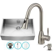 kitchen sink and faucet combo befon for