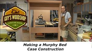 Murphy Bed Directions To Build Murphy Bed Making The Case Frame Woodworking How To Pt 1