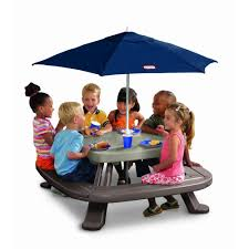 Outdoor Tablecloths For Umbrella Tables by Picnic Table With Umbrella Style Tablecloths For Picnic Table