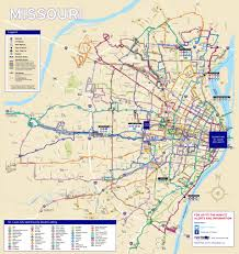 Amtrak Route Map Usa by System Maps Metro Transit U2013 St Louis