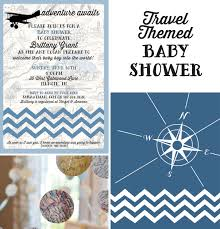 travel themed baby shower travel themed baby shower sincerely d