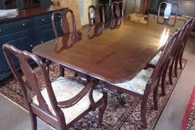 ethan allen dining room sets walnut ethan allen dining set breuer s heirloom furniture