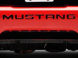99 mustang bumper graphics mustang black vinyl bumper insert letters