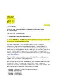 sample letter of charity 44 fantastic offer letter templates employment counter offer job offer letter 05