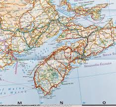 Quebec Canada Map Map Of Eastern Canada World Map